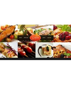 Flash CMS šablona na téma Café a restaurace č. 45653