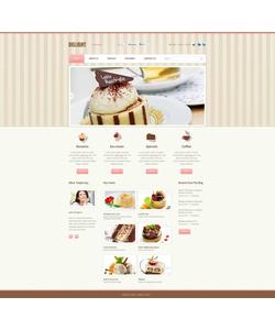 Flash CMS šablona na téma Café a restaurace č. 45671