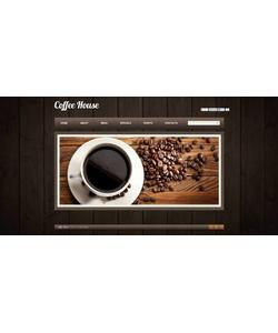 Flash CMS šablona na téma Café a restaurace č. 46666
