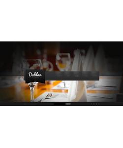 Flash CMS šablona na téma Café a restaurace č. 46667