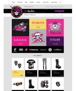 Magento e-shop šablona na téma Móda č. 47874