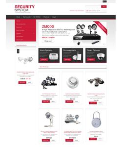 Magento e-shop šablona na téma Bezpečnost č. 47877