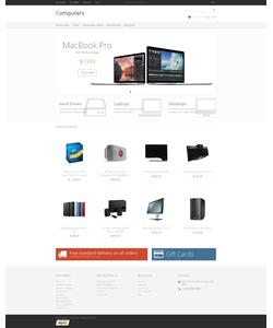 Magento e-shop šablona na téma Počítače č. 48001