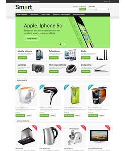 Magento e-shop šablona na téma Elektronika č. 48007