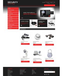 Magento e-shop šablona na téma Bezpečnost č. 48278
