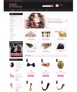 Magento e-shop šablona na téma Krása č. 48328