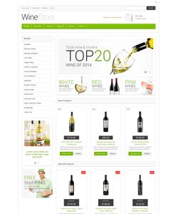 Magento e-shop šablona na téma Jídlo a pití č. 48333