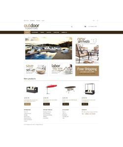 Magento e-shop šablona na téma Interiér a nábytek č. 48512