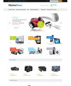 Magento e-shop šablona na téma Elektronika č. 48515