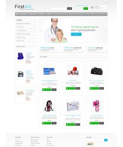 Magento e-shop šablona na téma Lekařské č. 48582