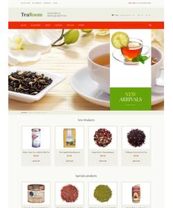 Magento e-shop šablona na téma Jídlo a pití č. 48758