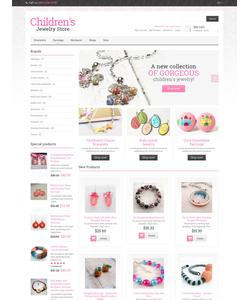 Magento e-shop šablona na téma Šperky č. 48937