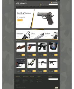 Magento e-shop šablona na téma Vojenské č. 49063
