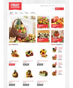 Magento e-shop šablona na téma Dárky č. 49064