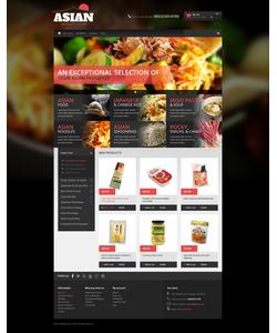 Magento e-shop šablona na téma Café a restaurace č. 49144