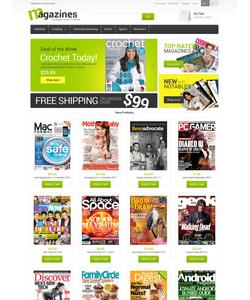 Magento e-shop šablona na téma Média č. 49200