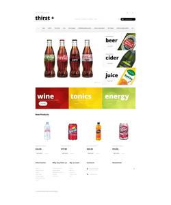 Magento e-shop šablona na téma Jídlo a pití č. 49293