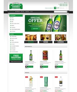 Magento e-shop šablona na téma Jídlo a pití č. 49364