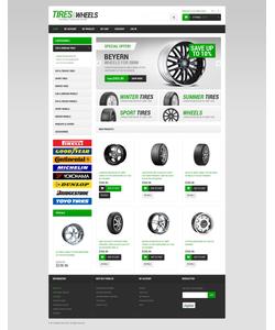 Magento e-shop šablona na téma Auta č. 49366