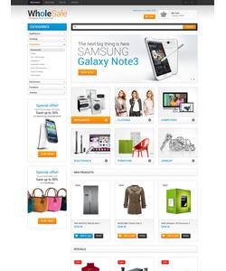Magento e-shop šablona na téma Elektronika č. 49368