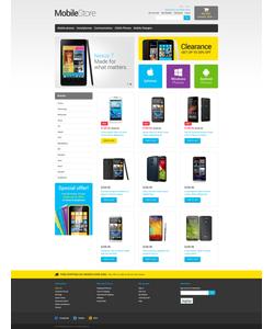 Magento e-shop šablona na téma Elektronika č. 49369