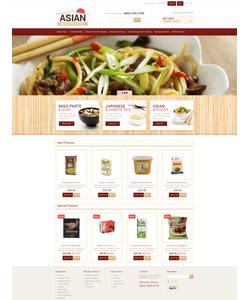 Magento e-shop šablona na téma Jídlo a pití č. 49418
