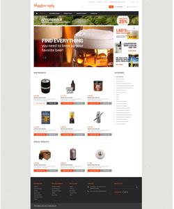 Magento e-shop šablona na téma Nejpopulárnější č. 49584