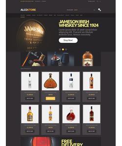 Magento e-shop šablona na téma Jídlo a pití č. 49587