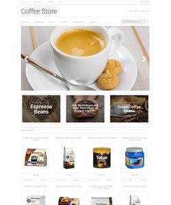 Magento e-shop šablona na téma Café a restaurace č. 50483