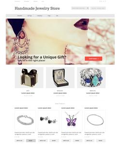Magento e-shop šablona na téma Šperky č. 50485