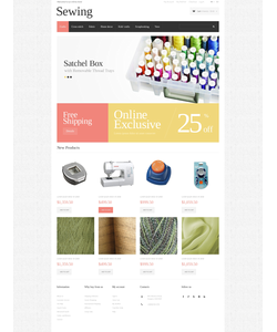 Magento e-shop šablona na téma Hobby č. 50631