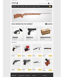 Magento e-shop šablona na téma Vojenské č. 50632