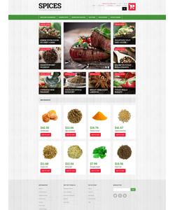 Magento e-shop šablona na téma Jídlo a pití č. 50701
