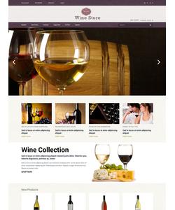 Magento e-shop šablona na téma Jídlo a pití č. 50783