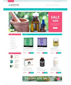 Magento e-shop šablona na téma Lekařské č. 50883