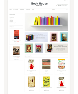 Magento e-shop šablona na téma Knihy č. 50899