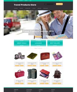 Magento e-shop šablona na téma Cestování č. 50981