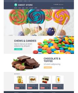 Magento e-shop šablona na téma Jídlo a pití č. 50982