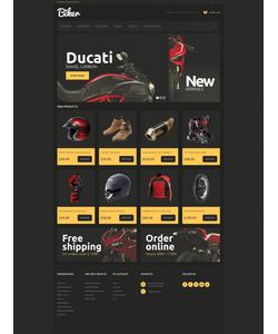 Magento e-shop šablona na téma Auta č. 51110