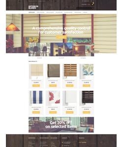Magento e-shop šablona na téma Interiér a nábytek č. 51240