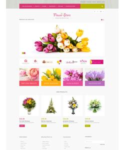 Magento e-shop šablona na téma Květiny č. 51290