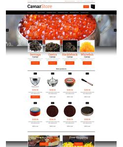 Magento e-shop šablona na téma Jídlo a pití č. 51351