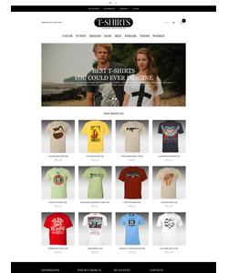 Magento e-shop šablona na téma Móda č. 51749