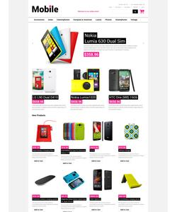 Magento e-shop šablona na téma Elektronika č. 51831