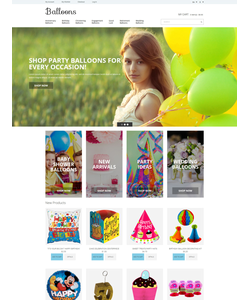 Magento e-shop šablona na téma Zábava č. 51832