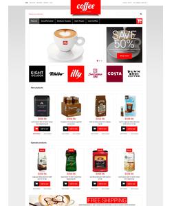 Magento e-shop šablona na téma Café a restaurace č. 51849