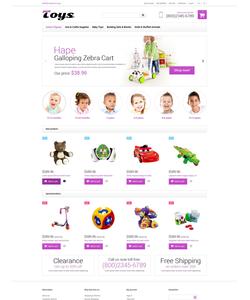 Magento e-shop šablona na téma Zábava č. 52023