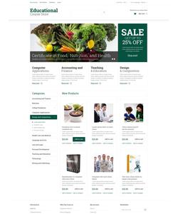 Magento e-shop šablona na téma Vzdělávání č. 52055