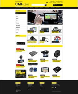 Magento e-shop šablona na téma Auta č. 52061
