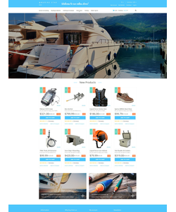 Magento e-shop šablona na téma Sport č. 52108